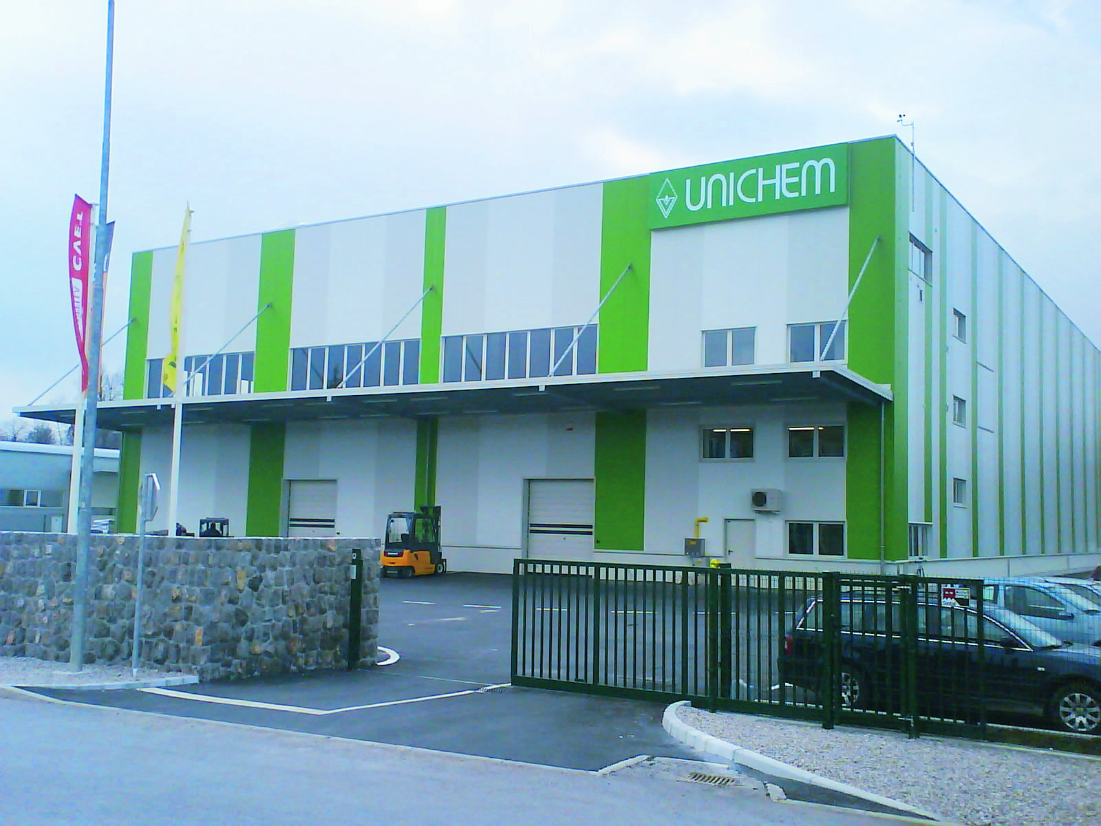 Unichemov logistični center v Logatcu